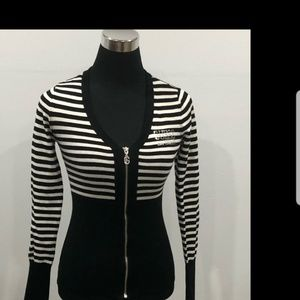 Guess zip up sweater.
